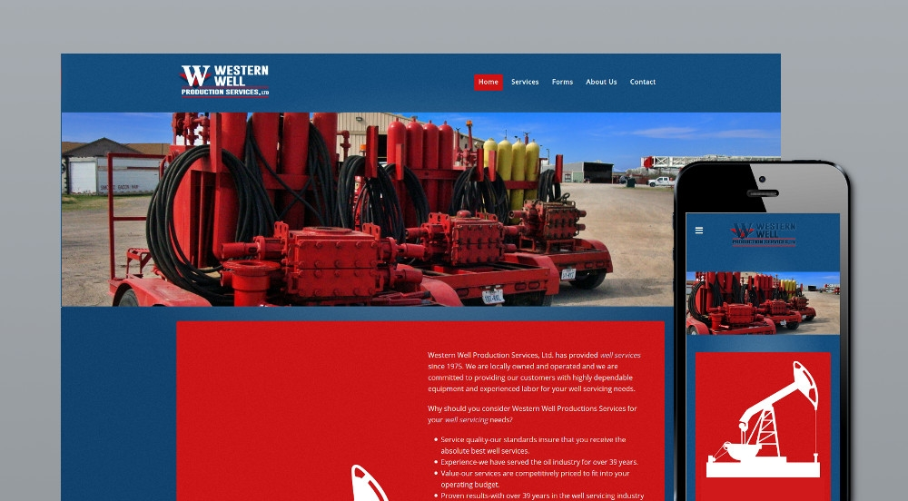Western Well Website