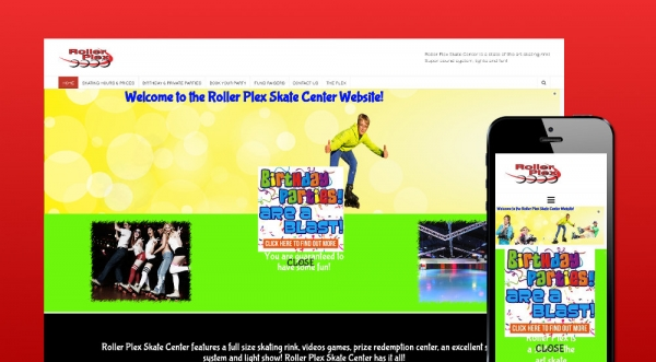 Roller Plex Skate Center Website